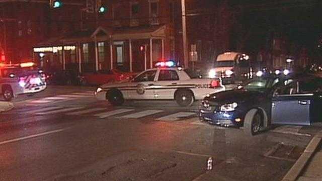 Woman struck in crosswalk