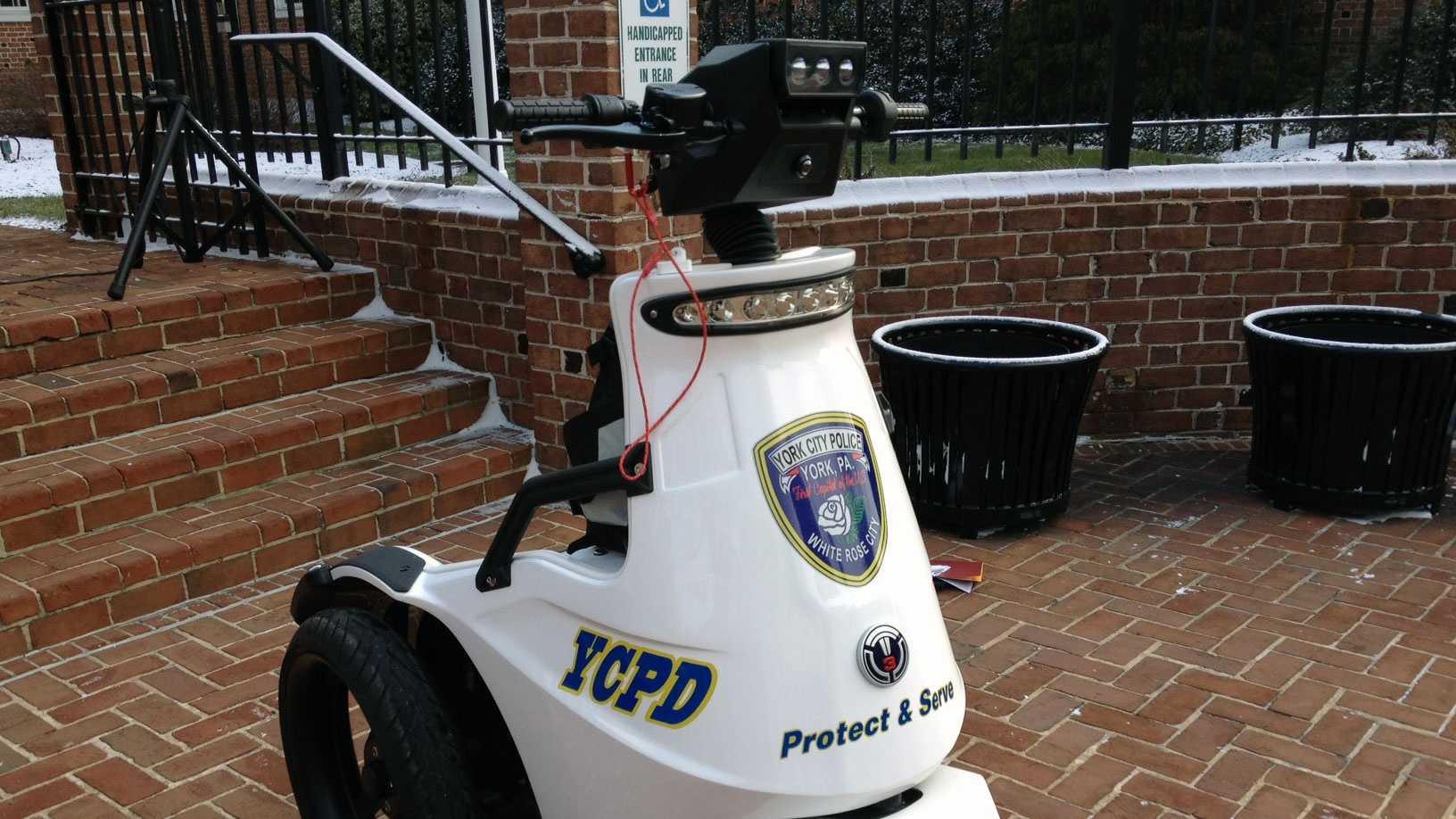 1.24 York police vehicle