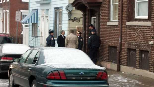 The incident happened at 121 Evergreen Street in a third floor apartment.