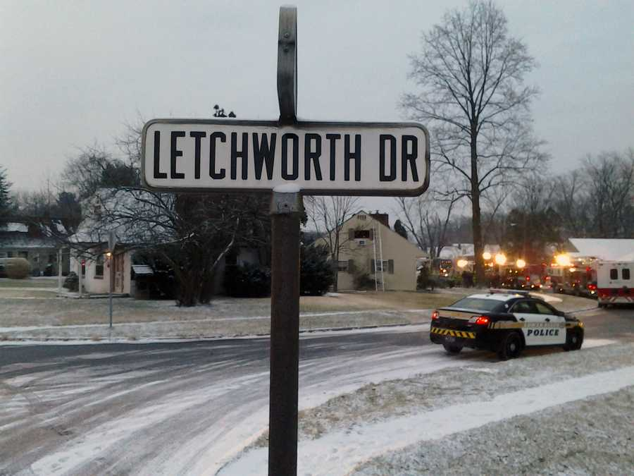 The fire started in the attic of a home in the 1900 block of Letchworth Drive about 6:30 a.m. Tuesday.
