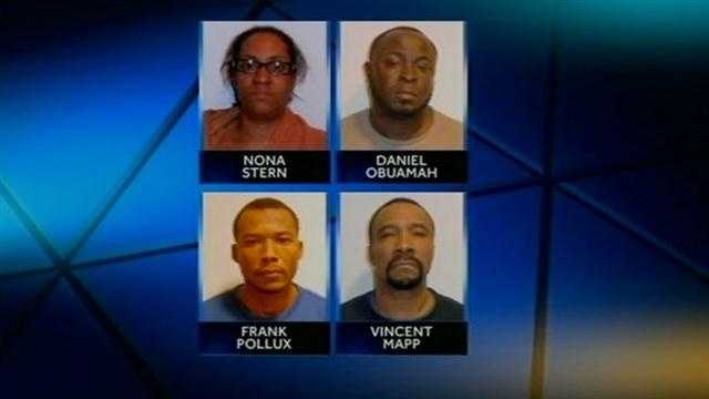 WALMART CREDIT CARD FRAUD ARRESTS