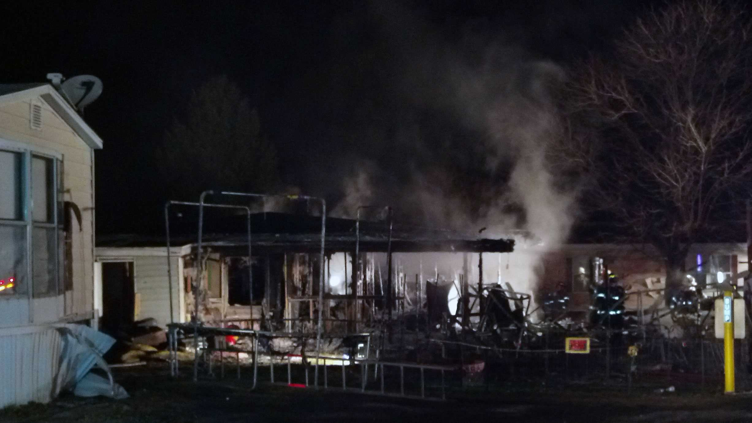 2.7 mobile home fire
