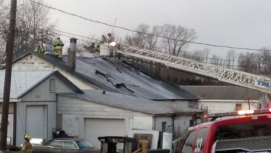 No one was injured in a Thursday morning fire at an auto body shop in Silver Spring Township, Cumberland County.