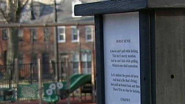 MUSSER PARK POETRY POLE