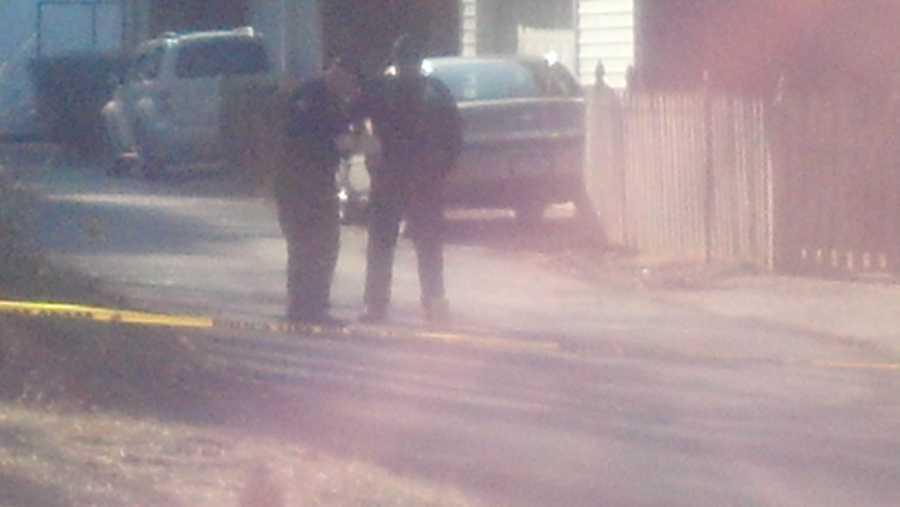 The incident happened near John Harris High School around 3 p.m.