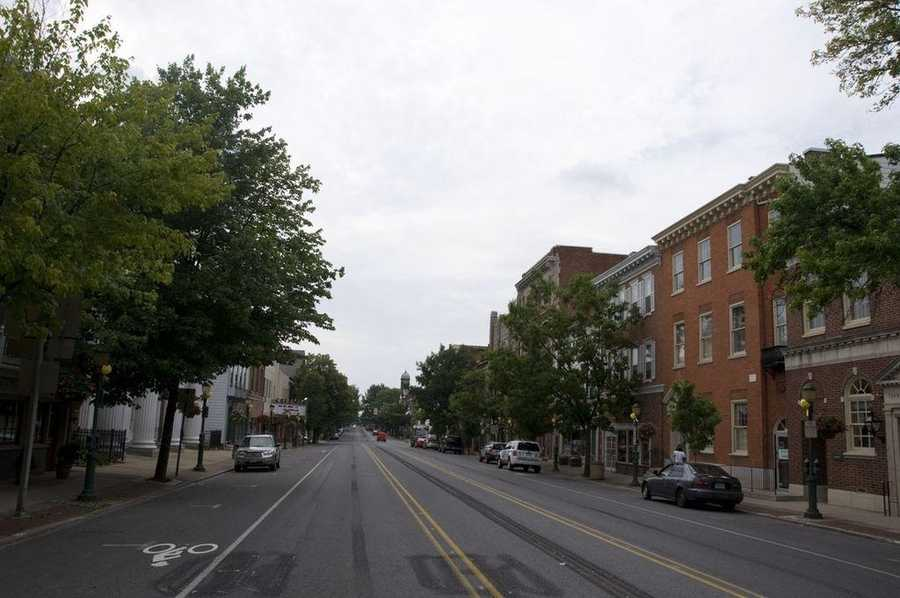 The biggest city in Cumberland County is Carlisle with 19,072 residents.
