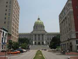 The most populated city in Dauphin County is Harrisburg with 49,673 residents.