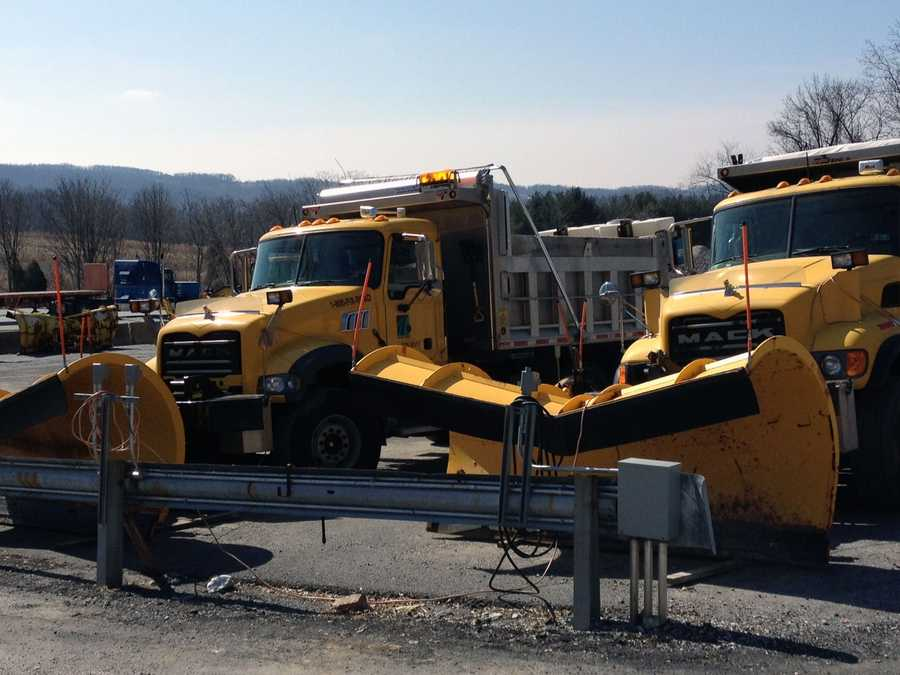 … and mounted plows.