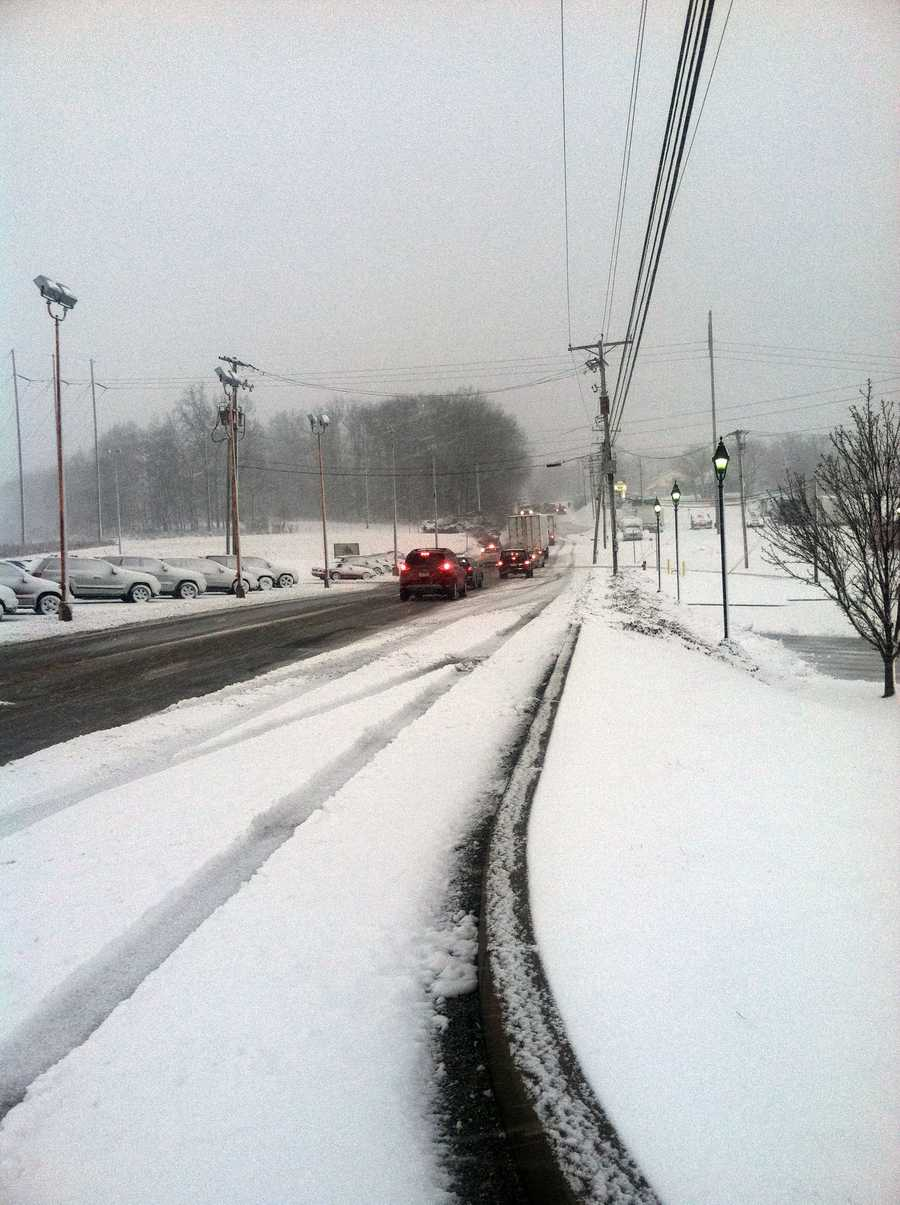 Route 24 in Red Lion, York County