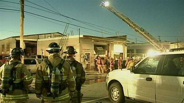 3.8 Manheim Township garage fire