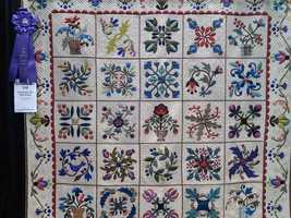 This quilt was named Best in Show.
