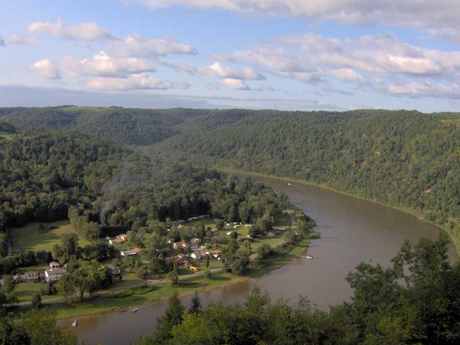 """""""These 87 miles of the Allegheny flows through areas of narrow forest valleys, wilderness islands, and broad, rural landscapes rich with the early history and culture of the region. Pastoral farmlands, small towns and the narrow winding valleys provide a diversity of views for those travelling the river. Good public access and few hazards make this an ideal river for novice and family canoeing. Fishing for muskie, walleye, rainbow trout and smallmouth bass is popular,"""" states the National Wild and Scenic River System website. Now, on to the next river..."""