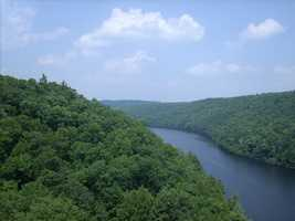 "Of the total length, 51.7 miles are designated as Wild and Scenic. ""Several factors contribute to the special scenic value of the Clarion River. The unique landform (unique in the region of the Allegheny River Basin) of the Clarion River Valley contributes a feeling of intimacy to the river. The sinuous, relatively narrow river valley with steep sides and little floodplain provides little opportunity for long, focused views. The steeply forested hillsides of almost continuous mature deciduous and coniferous vegetation contribute to a feeling of remoteness in many places along the river,"" states the National Wild and Scenic River System website. Now, on to the next river..."