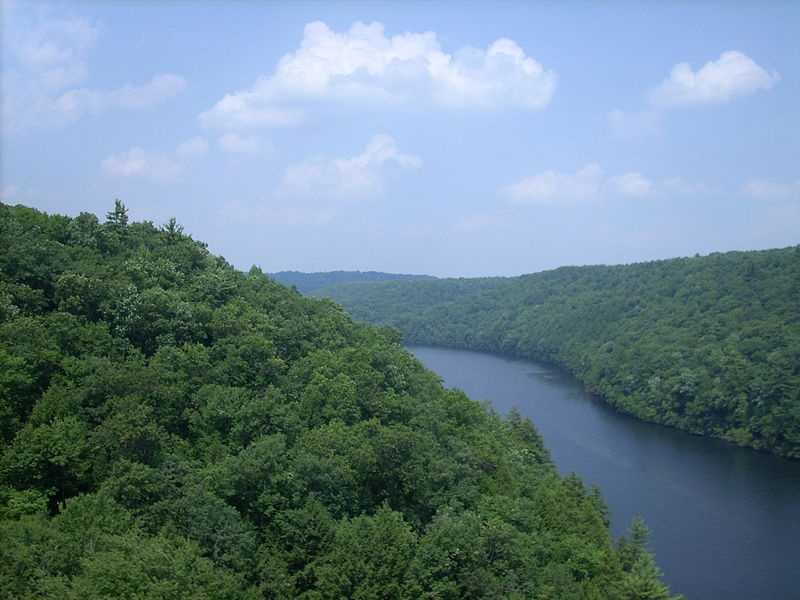 """Of the total length, 51.7 miles are designated as Wild and Scenic. """"Several factors contribute to the special scenic value of the Clarion River. The unique landform (unique in the region of the Allegheny River Basin) of the Clarion River Valley contributes a feeling of intimacy to the river. The sinuous, relatively narrow river valley with steep sides and little floodplain provides little opportunity for long, focused views. The steeply forested hillsides of almost continuous mature deciduous and coniferous vegetation contribute to a feeling of remoteness in many places along the river,""""states the National Wild and Scenic River System website. Now, on to the next river..."""