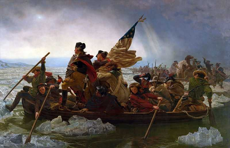 The Delaware River and Washington's crossing of it are an iconic moment of the Revolutionary War.