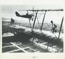 Many enlisted men who had learned to fly these airplanes were able to buy them because the government sold them off cheaply.