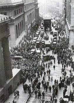 The 1929 stock market crash devastated some of the flying circuses and barnstorming acts.