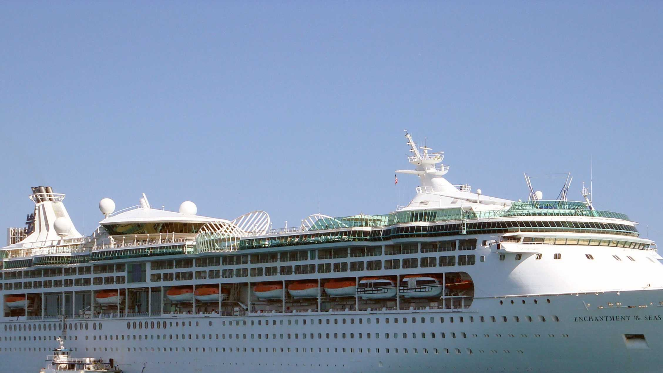 The woman was found dead by her husband on this Royal Caribbean ship.