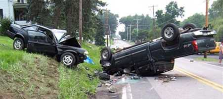 Twice as many people lose their lives in crashes than homicides each year in Pennsylvania.