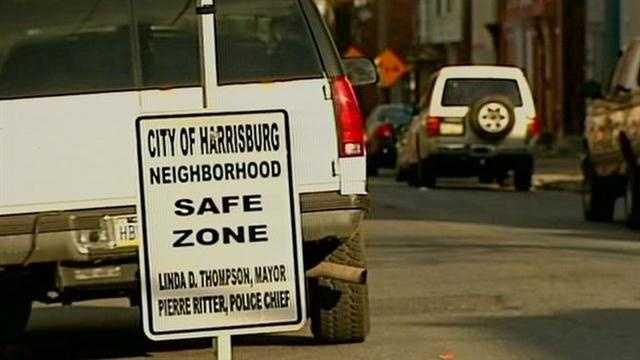 Harrisburg safe zone update