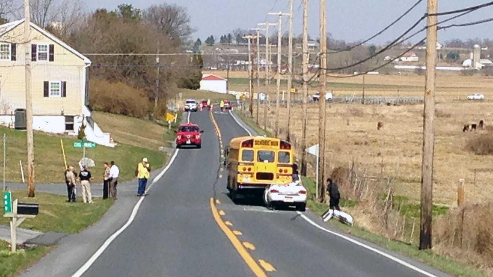 4.5 school bus crash