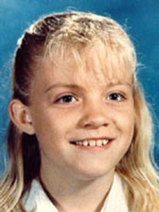 Michaela Joy Garecht was nine-years-old when she was abducted by an unknown male assailant in the parking lot of the Rainbow Market in Hayward, California, on the morning of November 19, 1988. She was attempting to retrieve her friend's scooter that the abductor had moved closer to his vehicle while the girls were inside the market when she was grabbed by the assailant and pulled into a car. Garecht has not been seen or heard from since this date. The FBI is offering a reward of up to $10,000 for information leading to the arrest and conviction of the abductor of Michaela Garecht.