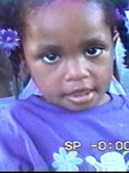 On July 6, 2001, ten-year-old Tionda Bradley (next photo) and her sister, three-year-old Diamond Yvette Bradley (shown above), were reported missing to the Chicago Police Department, Chicago, Illinois. According to their mother, a note written by Tionda was found, stating that the two girls were going to the store and to the school playground. An extensive search of the area and surrounding neighborhood met with negative results. A reward of up to $10,000 is being offered for information regarding the current whereabouts of Diamond and her 10-year-old sister Tionda Bradley.