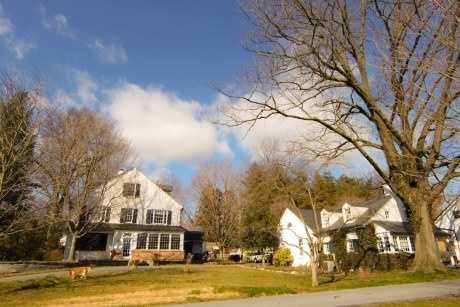 The home sits on 1.6 acres.