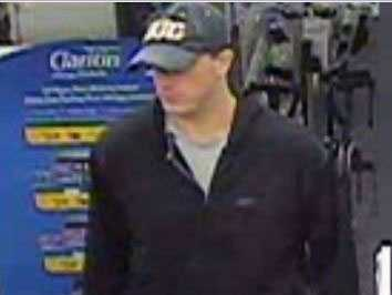 West Shore Regional Police released these photos of the man accused of robbing a CVS Pharmacy in Lemoyne on Monday morning.