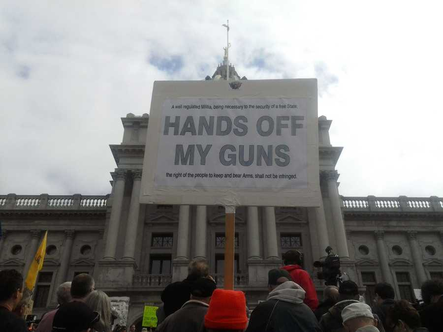 The Pennsylvania Second Amendment Action Day in Harrisburg featured speakers on legal issues related to firearm ownership.