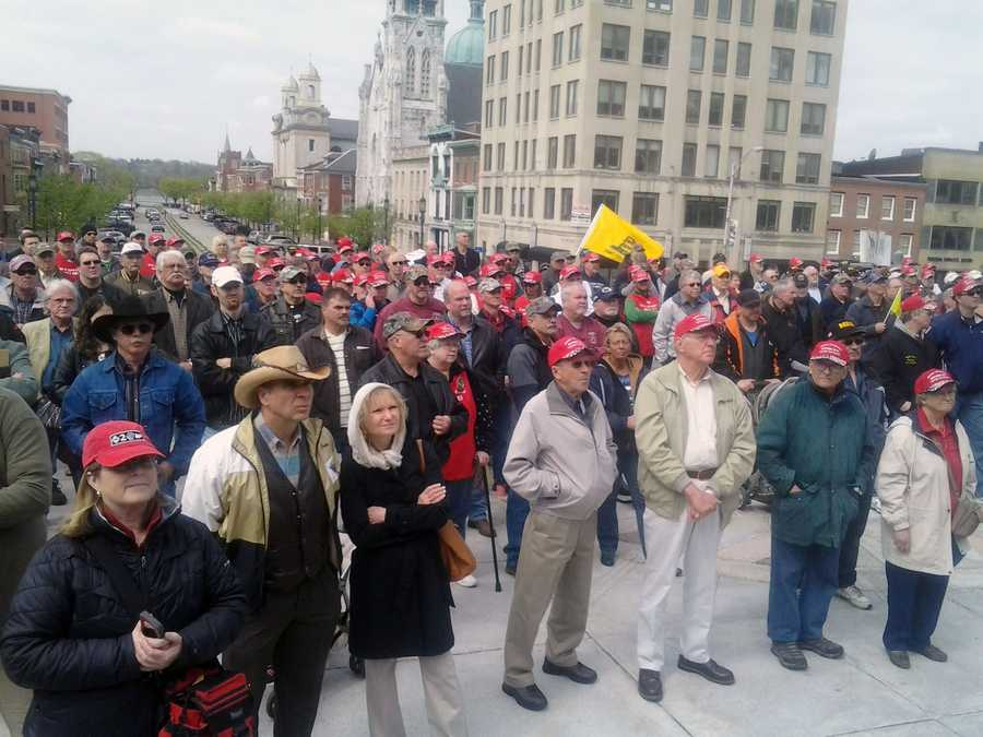 The rally has been an annual event in recent years.