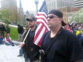 Butler County Republican Rep. Daryl Metcalfe, who is one of the Legislature's most outspoken members on the subject of gun rights, organized the event.