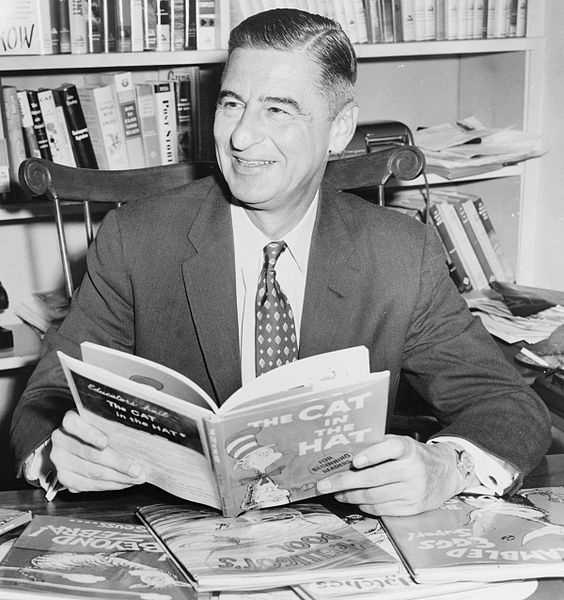 """Don't cry because it's over, smile because it happened."" Dr. Seuss (Theodore Geisel) - children's author"
