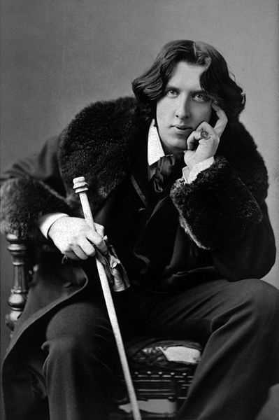 """Some cause happiness wherever they go&#x3B; others whenever they go."" Oscar Wilde - writer, poet, playwright"