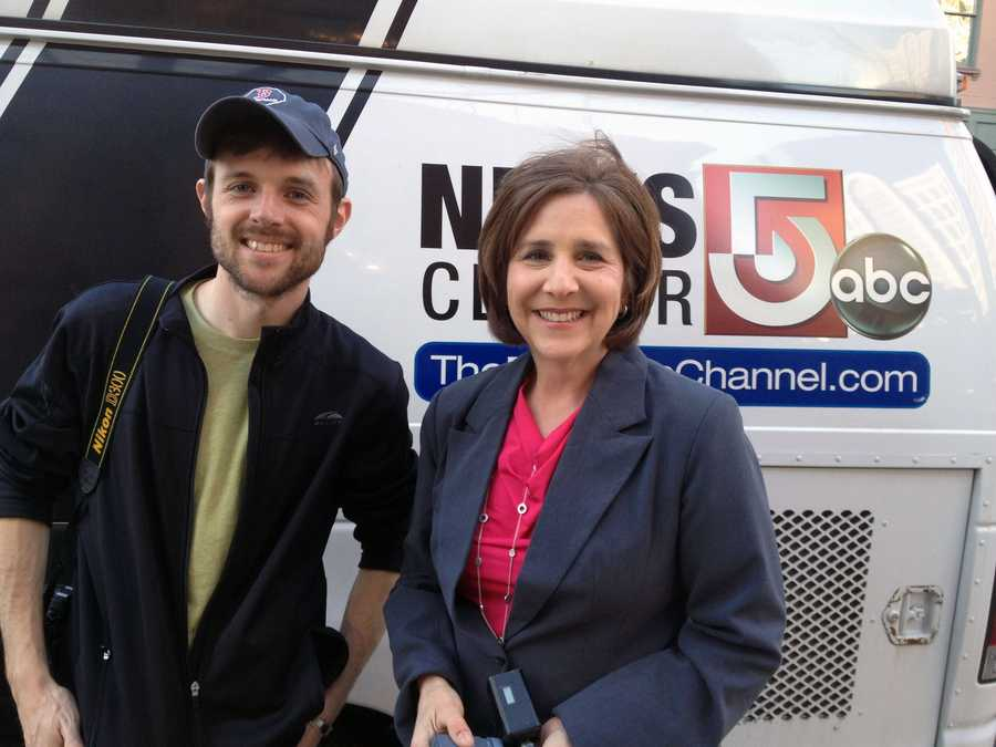 News 8 photographer Will Elliott and News 8 anchor Susan Shapiro spent a week in Boston helping WGAL's sister station, WCVB, with coverage of the marathon bombings.