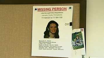 Her husband Lee reported her missing.