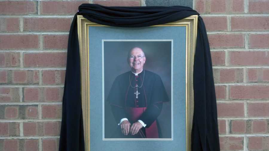 This is a photo of Bishop McFadden at Bishop McDevitt High School.