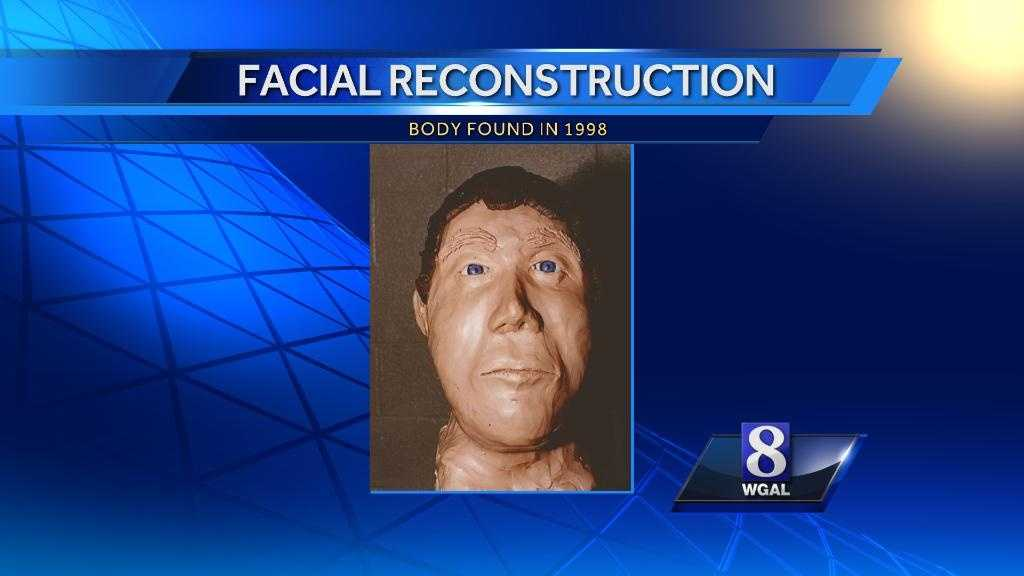 This is a facial reconstruction of the man.