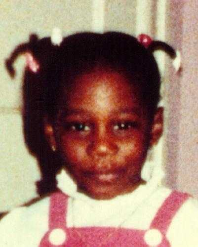 This is Jeanine Camille Barnwell. She was last seen by her mother on Nov. 15, 1985 in Philadelphia. She was 3-years-old when she disappeared. Her case is considered a non-family abduction. Police suspect foul play.