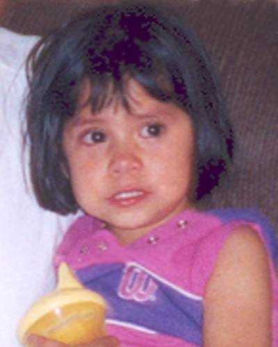 Tayna Morales was last seen at her home in Reading on September 8, 2004. She was 3-years-old at the time. Tayna may be in the company of her father, Roman Morales. A warrant is on file for Roman. They may still be in the local area or they may have traveled to Mexico. Tayna may go by the alias last name Rojo and Roman may go by the alias last name De La Luz.