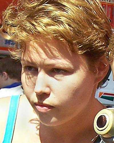 This is Svetlana Stepnaya. A felony warrant for Kidnapping was issued for the alleged abductor on June 3, 2004. They are believed to be in Russia. Sean has a mole on his right cheek and a scar above his lip. Svetlana may use the alias name Lana K. Morrow.