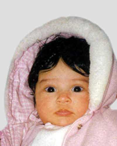 Sneha Juri Piece was last seen in Stroud Township on Feb. 14, 1998. She was 5 months old. Her case is considered a family abduction. She may be with her mother on the island of Mauritius.