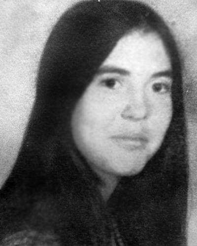 Patricia Jane Seelbaugh has not been seen since Oct. 26, 1973 in Grove City, Pa. She was 17. She was last seen with her friends at a truck stop. She is considered endangered and missing.