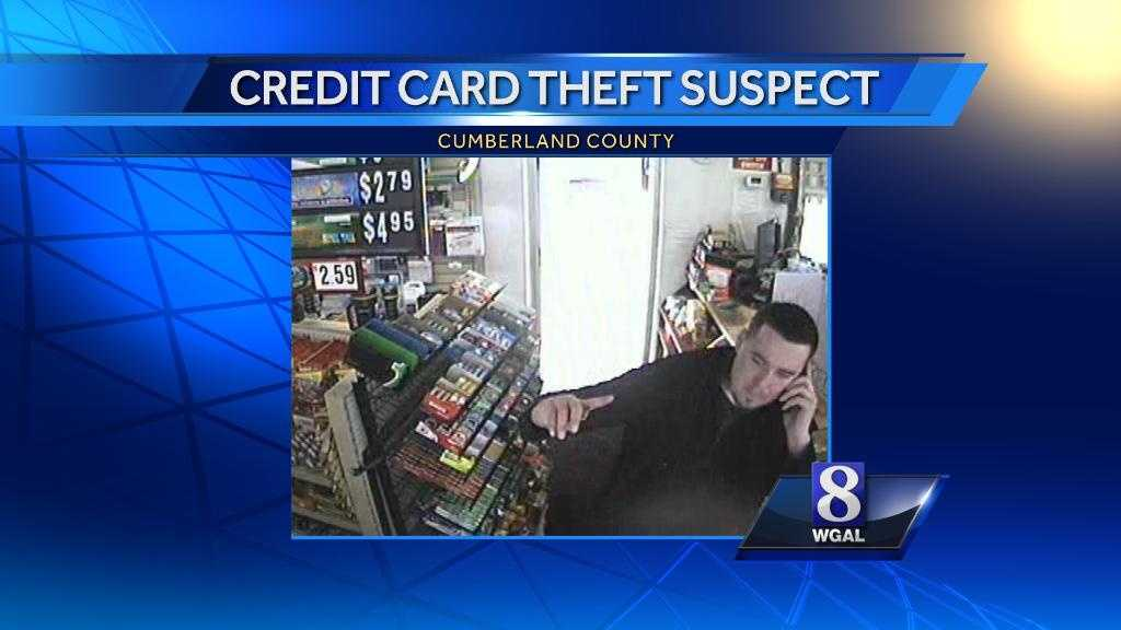 Police released this surveillance photo of the man accused of using the stolen credit card.