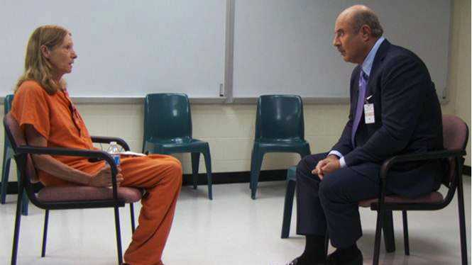 Dr. Phil interviews Brenda Heist in a Florida county jail.