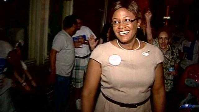 Mayor Kim Bracey in York is feeling good as more results come in.