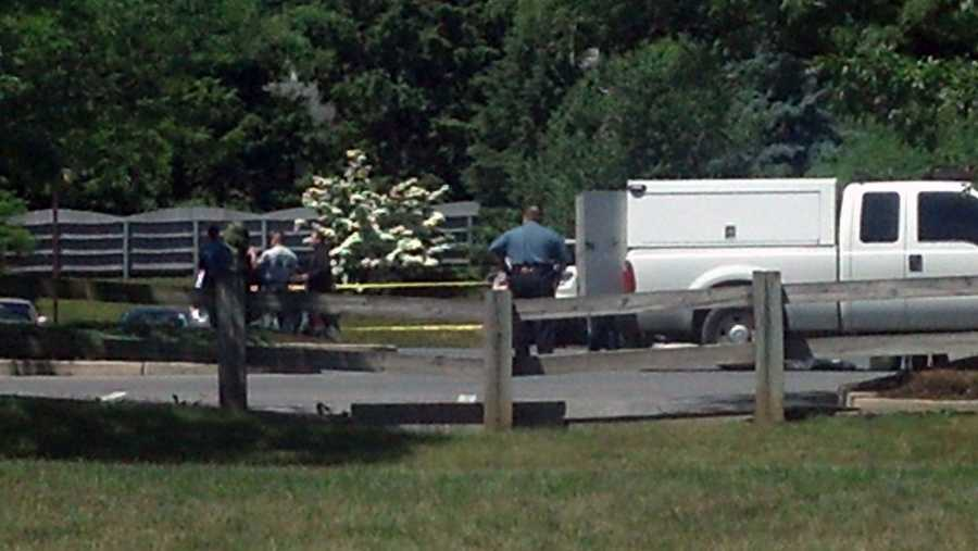 Investigators said the package, which has been disposed of, was wrapped in duct tape and a bungee cord.