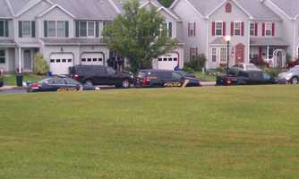 Officers were called to the 400 block of South 25th Street about 5:20 p.m. Thursday.