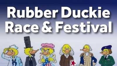 Watch 25,000 rubber duckies float down the Conestoga River!