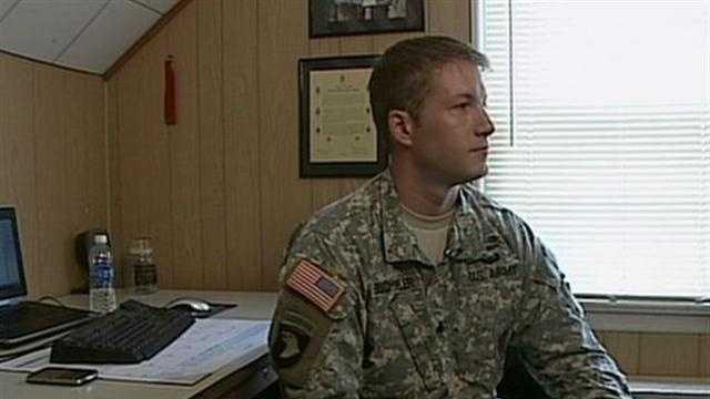 eyewitness soldier